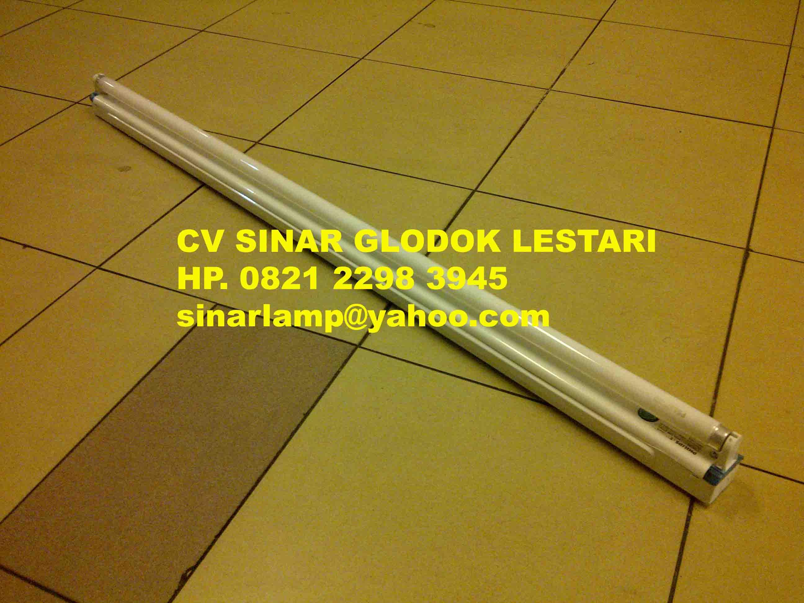 Kap Lampu TL Balok Simbat 36W TMS012 PHILIPS