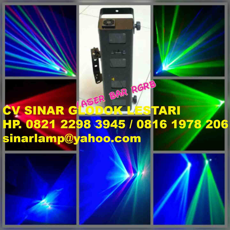 Lampu Laser Bar Rgrb