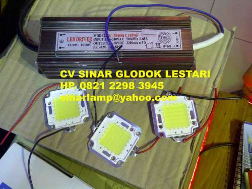 Spare Part Lampu LED 50W Trafo LED