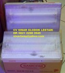 Lampu Darurat Emergency TL 2x8W Waterproof EEW 28NM-2 B SAMCOM