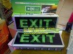 Lampu EXIT LED Fire Emergency Evacuation Sign Luminaires 101