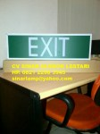 Lampu Emergency EXIT TL 10W Box Panjang