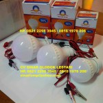 Lampu LED 12V DC Model Jepit Aki